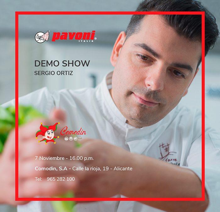 Demo show Sergio Ortiz
